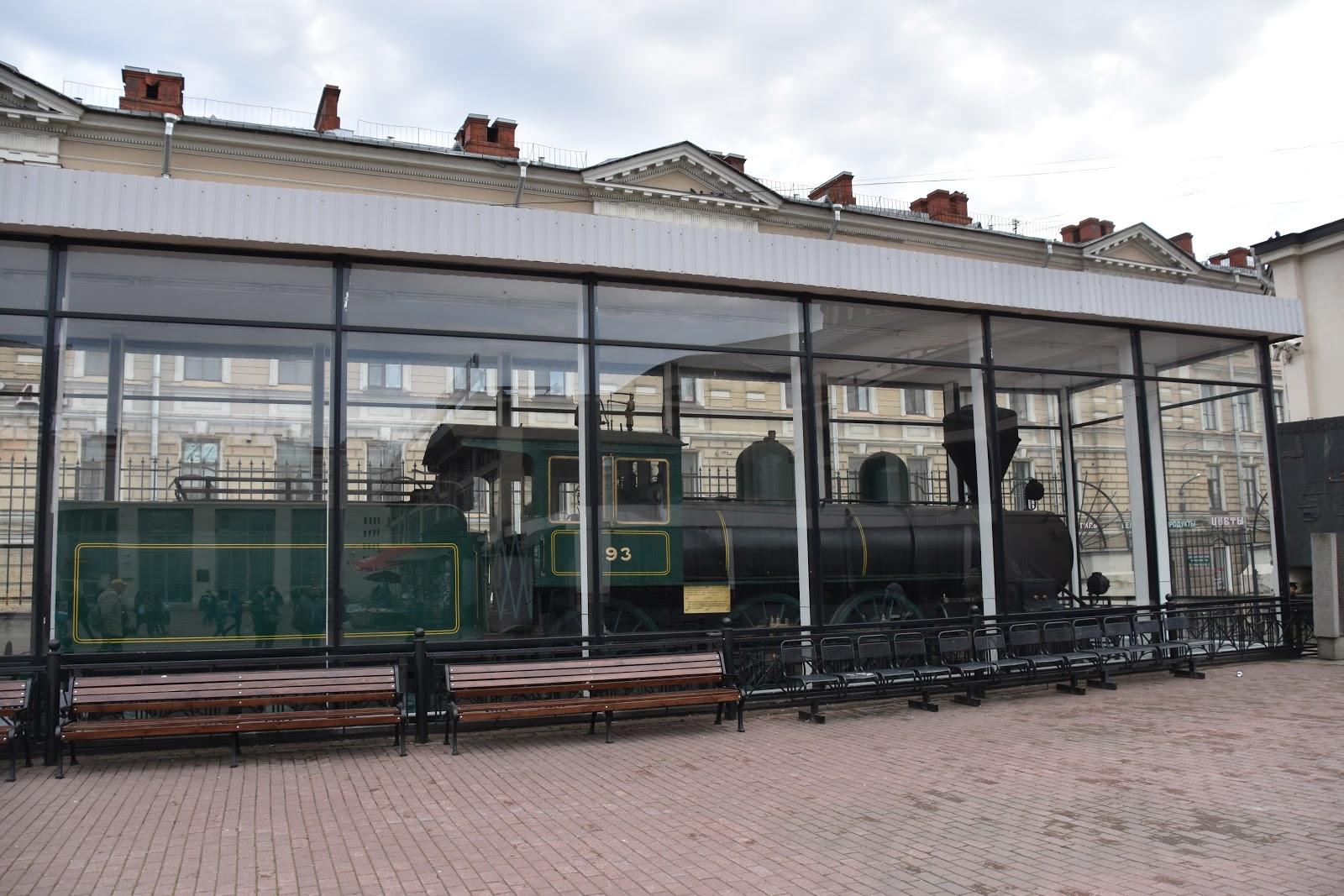 Lenins lokomotiv - Finlandsstationen