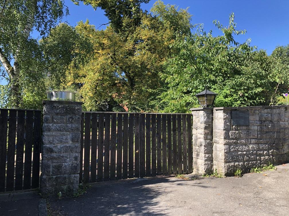 Haus Friedentahl där Rommel bodde mellan 1943-44