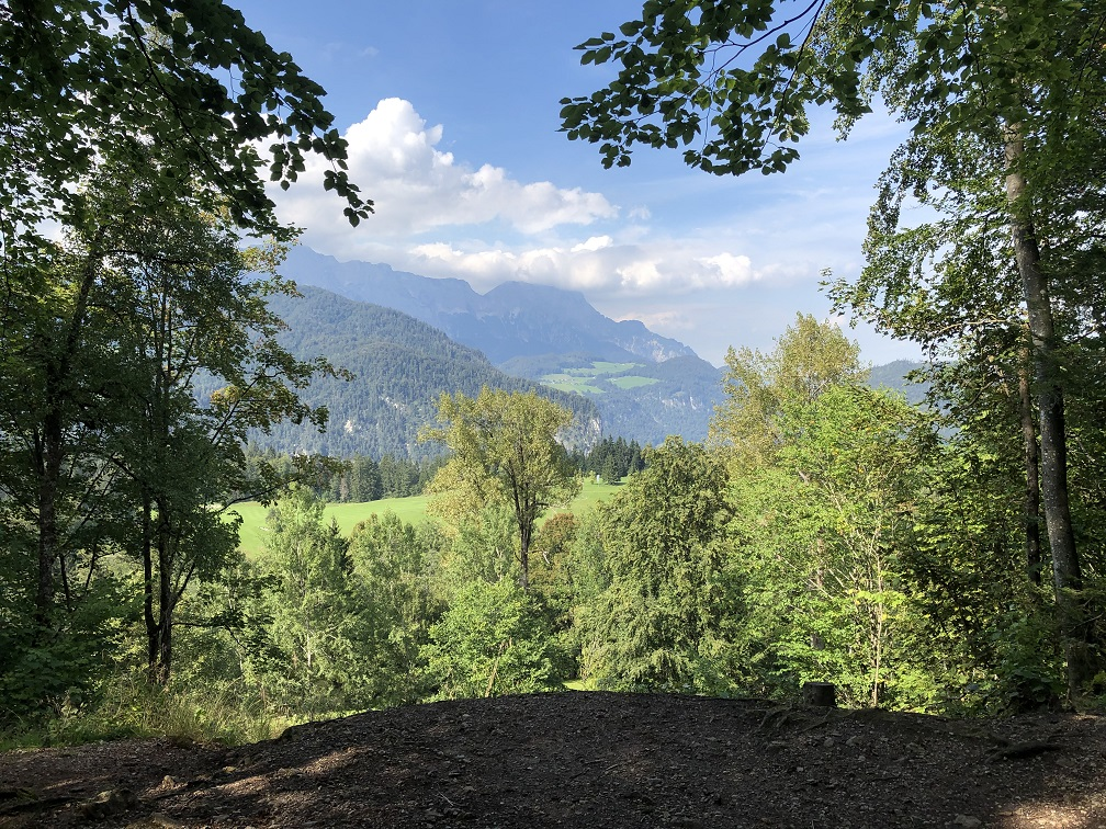 Utsikt mot Untersberg från Berghof (2020)