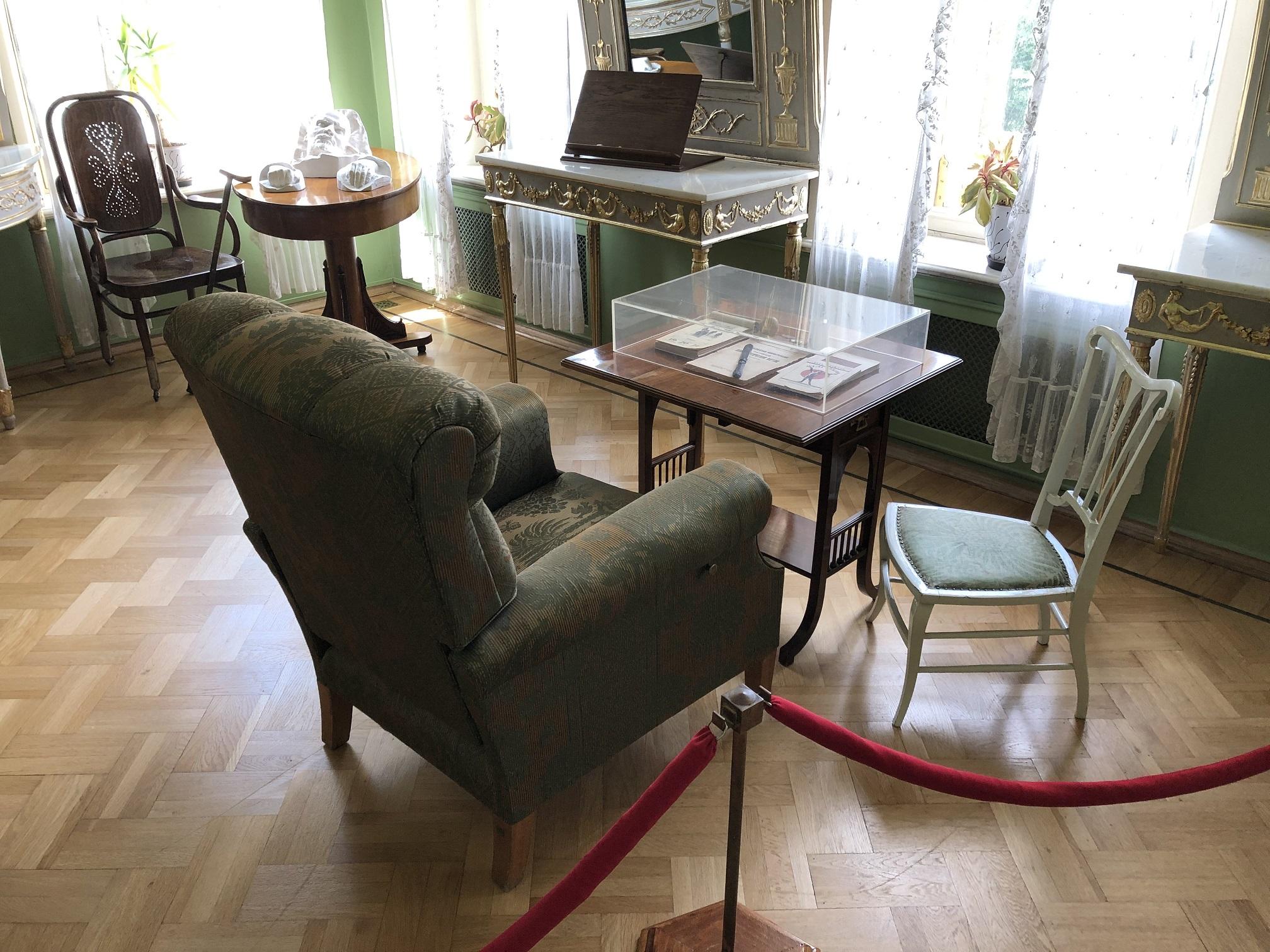 Lenins arbetsrum i slutet av hans liv