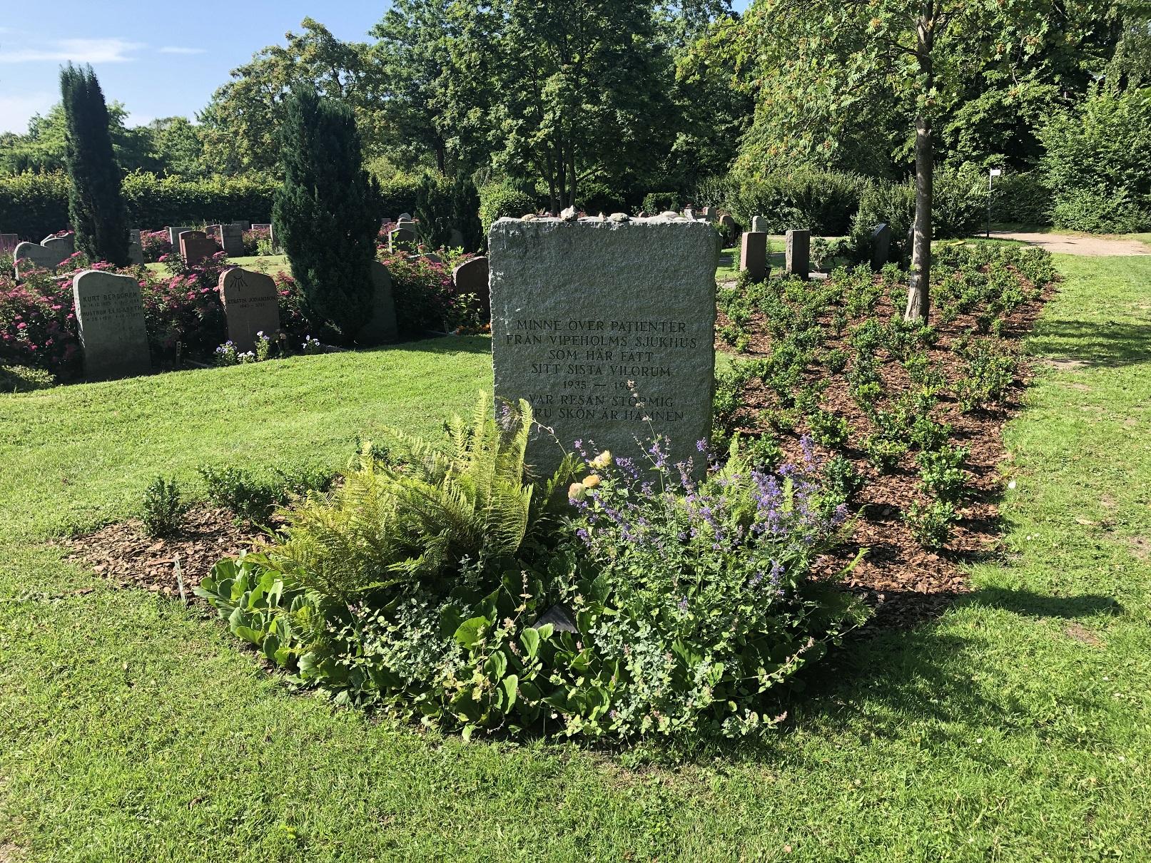 Vipeholmsstenen (Lunds norra kyrkogård)