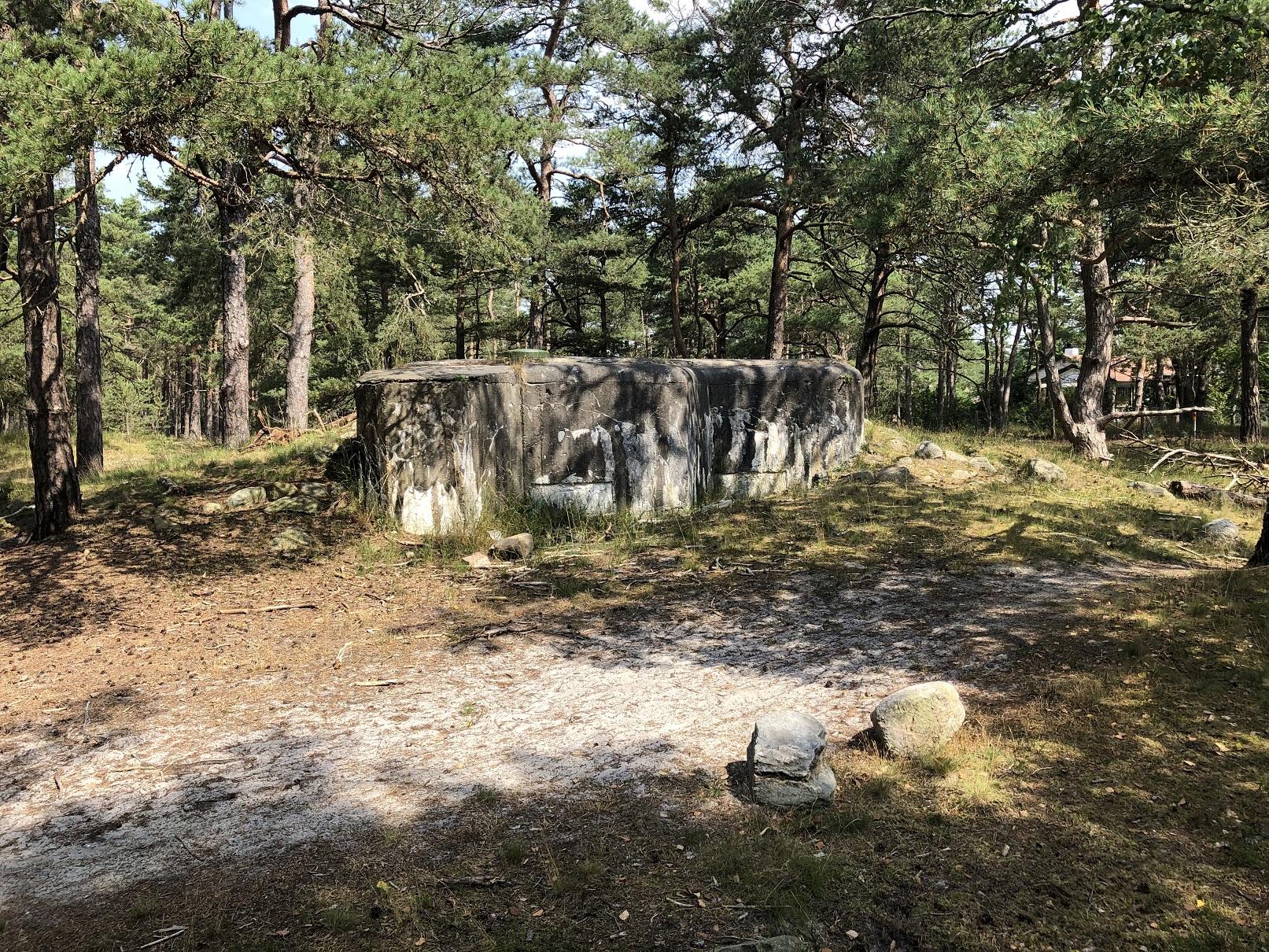 Bunker vid Falsterbokanalen
