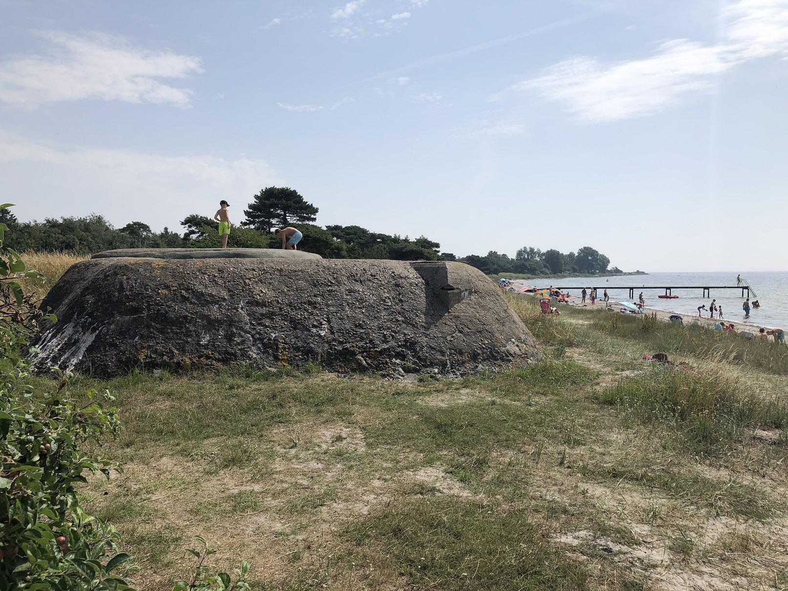 Bunker vid Skåre
