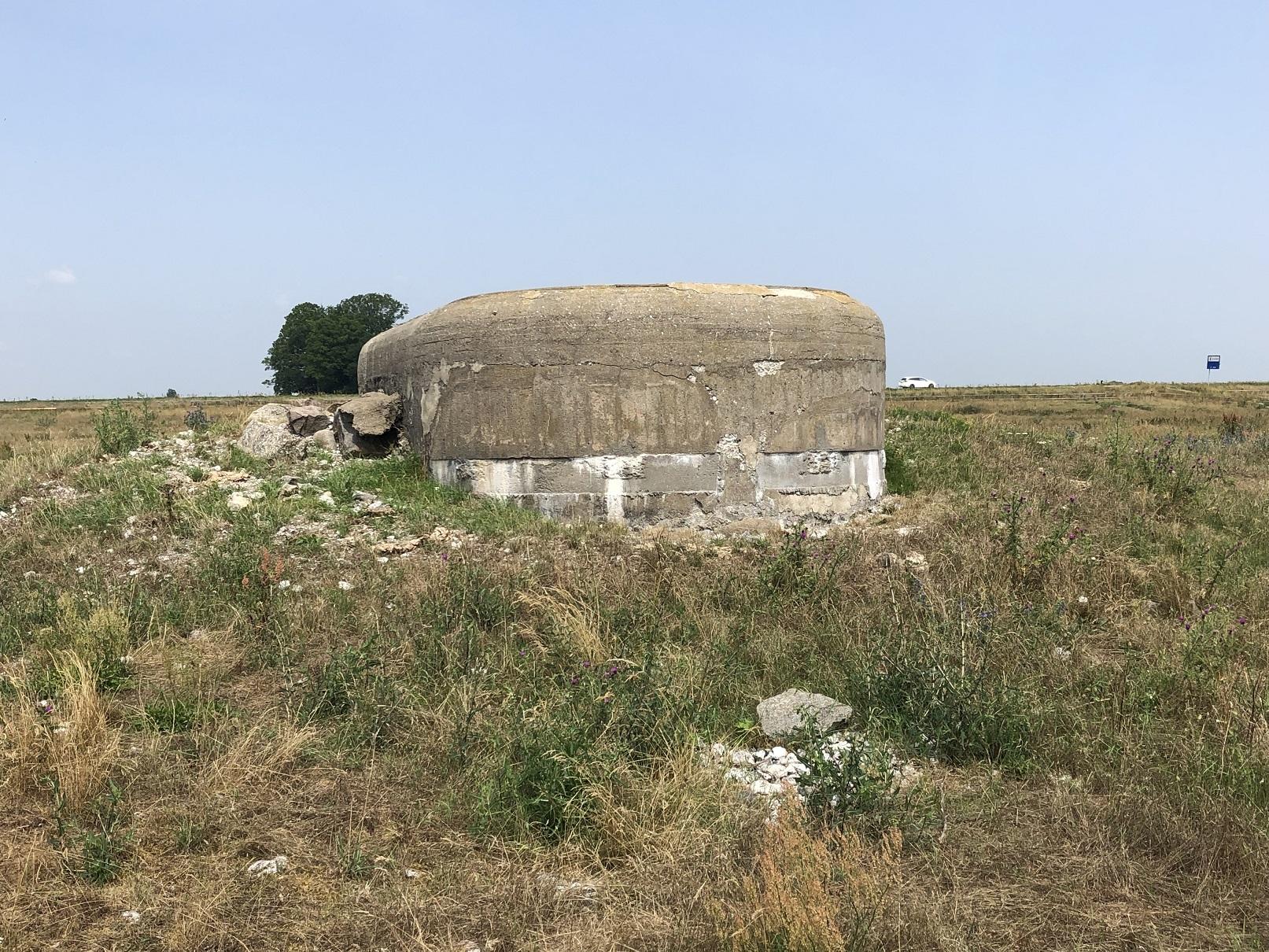 Bunker vid Böste