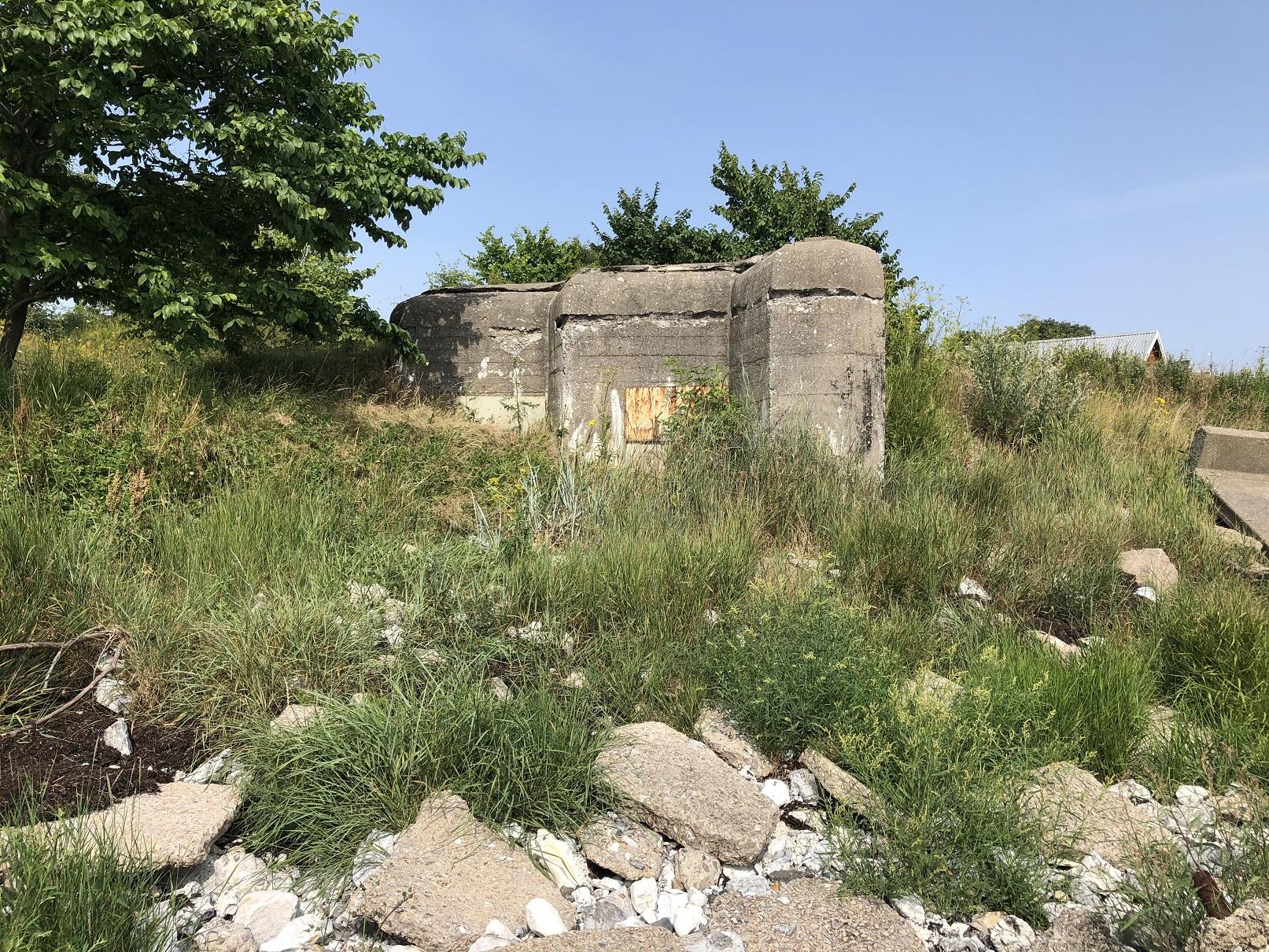 Bunker vid Smygehuk