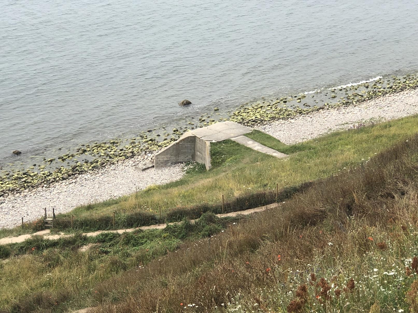 Bunker vid Kåseberga/Ales stenar