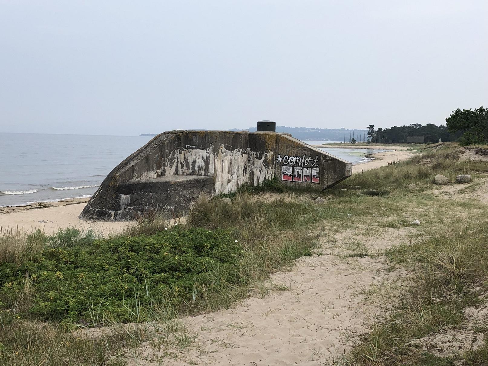 Bunker vid Haväng