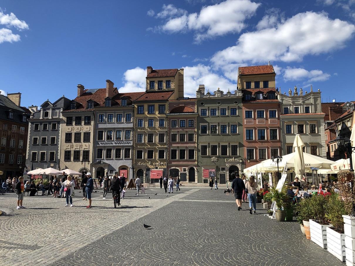 Warszawas historiska centrum