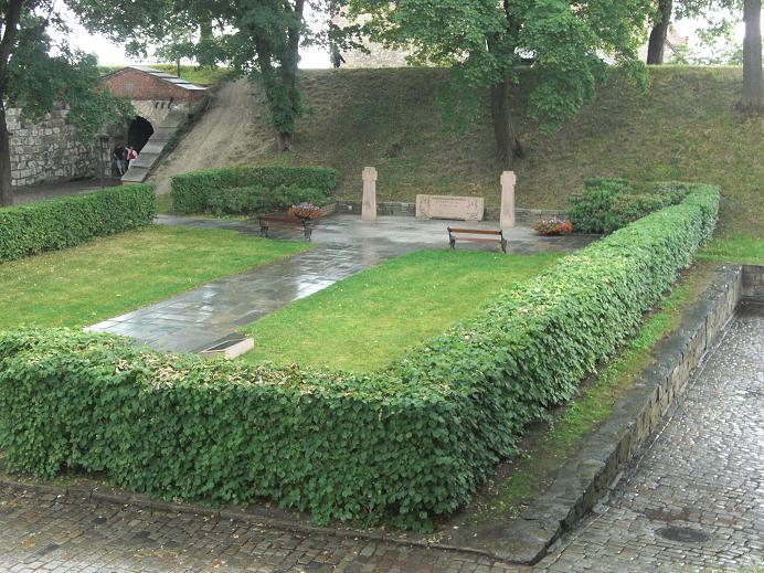 Minnesmonument avrättningsplatsen