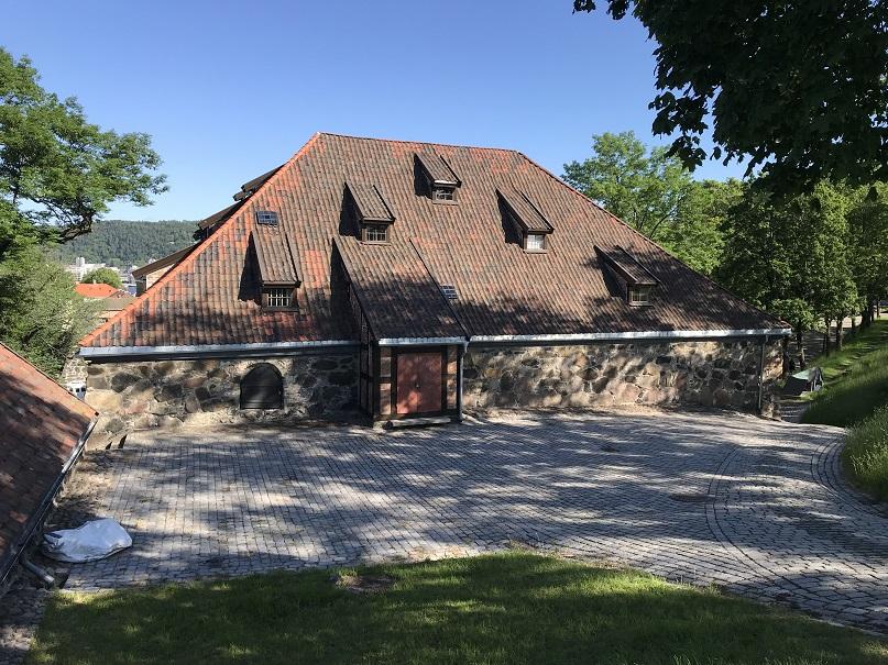 Kruttornet där Quisling satt fängslad och även arkebuserades