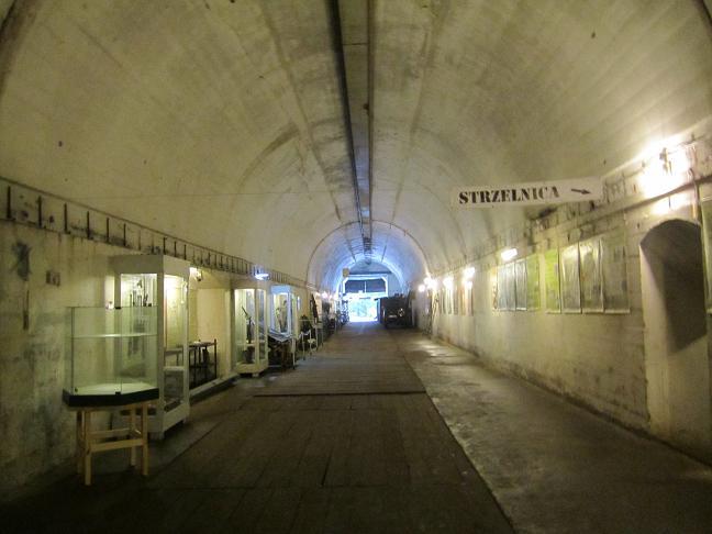 Inuti tågtunneln