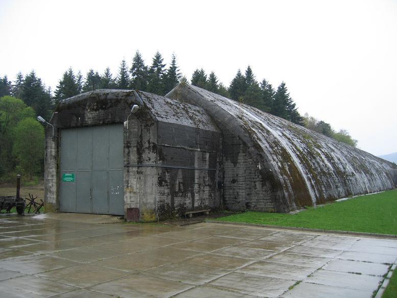 Tunneln där Mussolinis tåg var parkerat