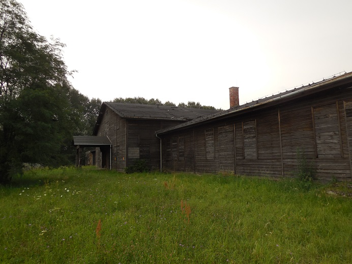 SS kantin och kök (utanför lägret)
