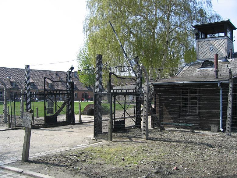 Lägerentrén Auschwitz I - Stammlager