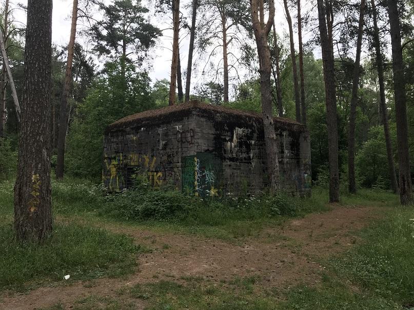 Den s.k. Hitlers bunker i Glushchenki
