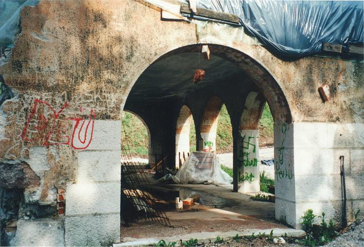 Gästhuset (1997). Numera Dokumentation Obersalzberg