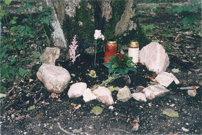 Minneslund för Hitler vid Berghof (1997)