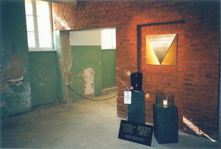 Minnesmonument i källaren
