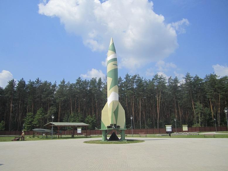 Replika av en V2 raket (A4)