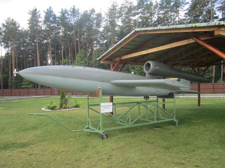 Replika av en V1 raket