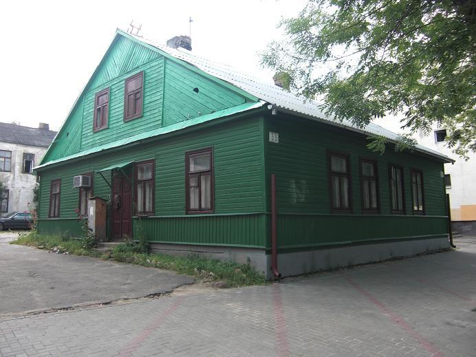Hus i f.d. gettot