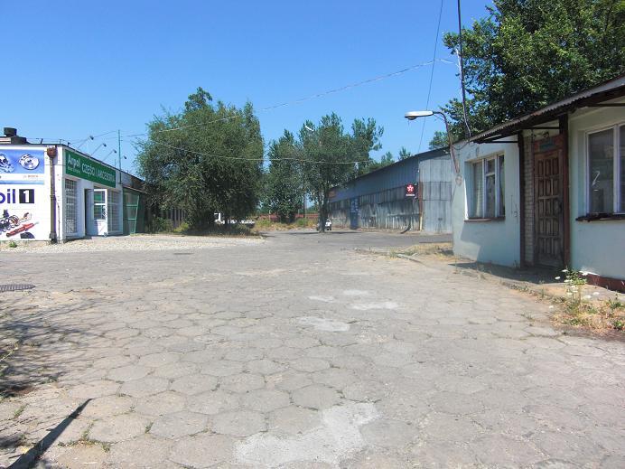 Garage/förråd på det forna lägerområdet