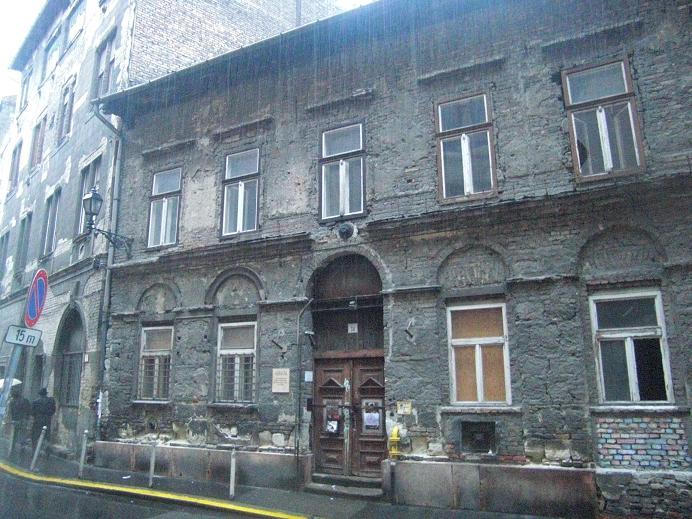 Hus i det centrala gettot