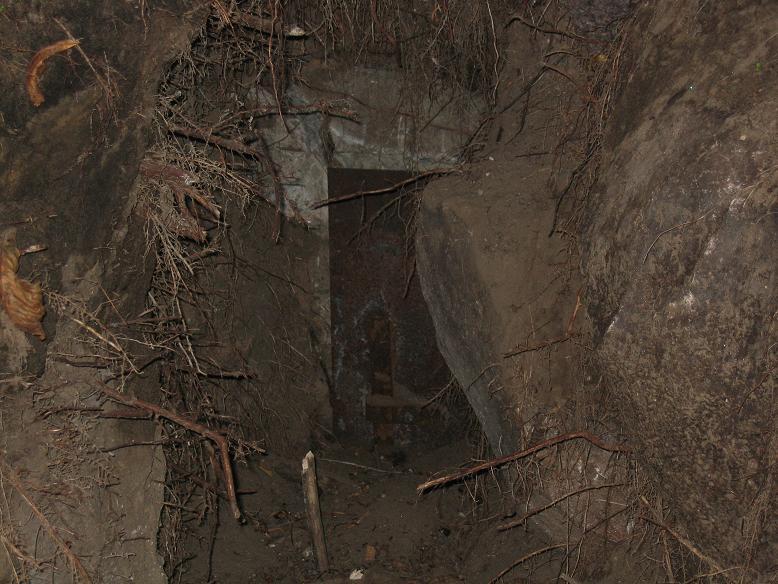 Ingången till Görings bunker (2007)