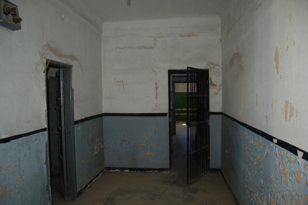 Inuti Block 15 (Bilden tagen av representant för museet och publicerad med museets godkännande