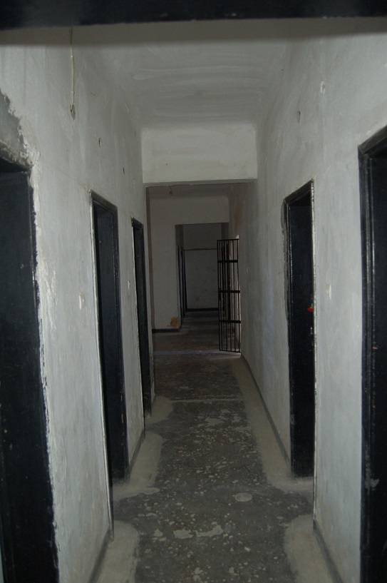 Inuti block 15 (Bilden tagen av representant för museet och publicerad med museets godkännande)