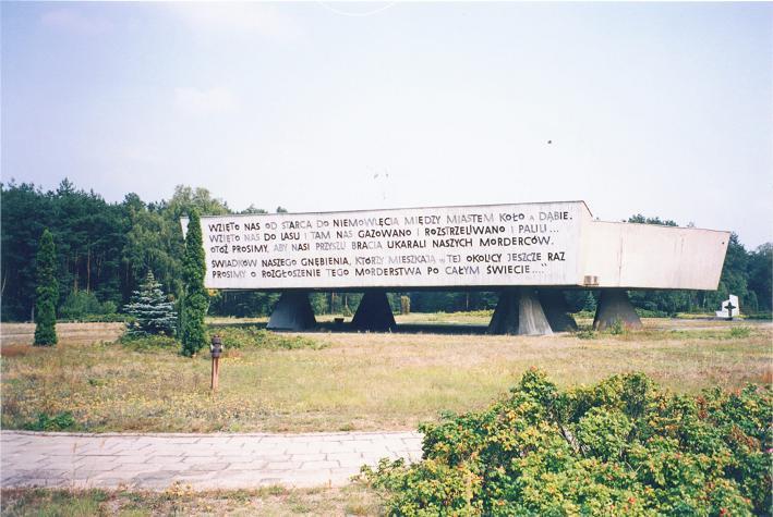 Minnesmonumentet i Waldlager
