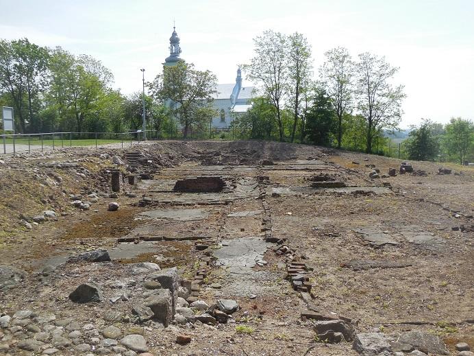 Hauslager: Ruin efter herrgården