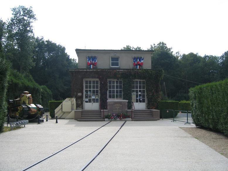 Museet med marskalk Fochs järnvägsvagn