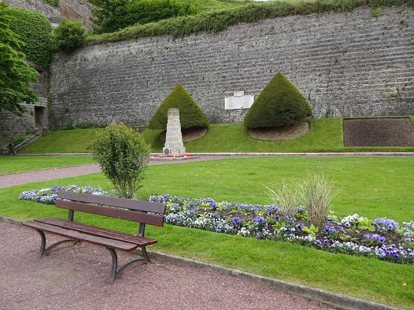 Kanadensisk minnespark i Dieppe