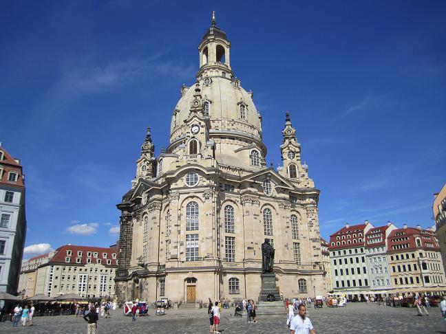 Den återuppbygda Frauenkirche