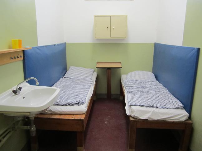 Cell för två fångar