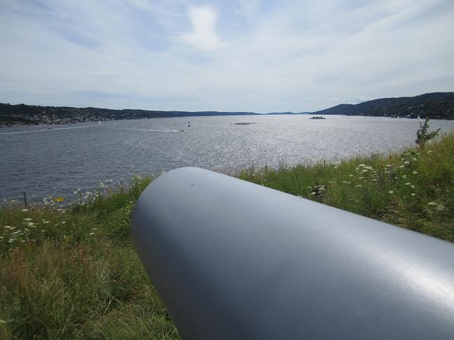 Oslofjorden söder om Oscarsborgs fästning