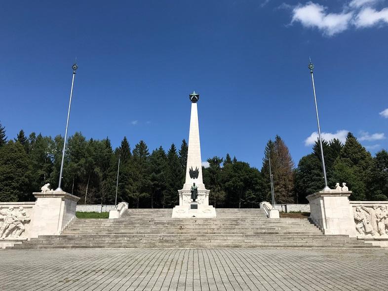 Sovjetisk krigskyrkogård, Svidnik