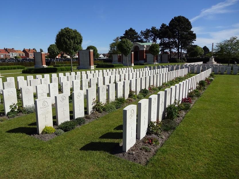 Brittisk krigskyrkogård