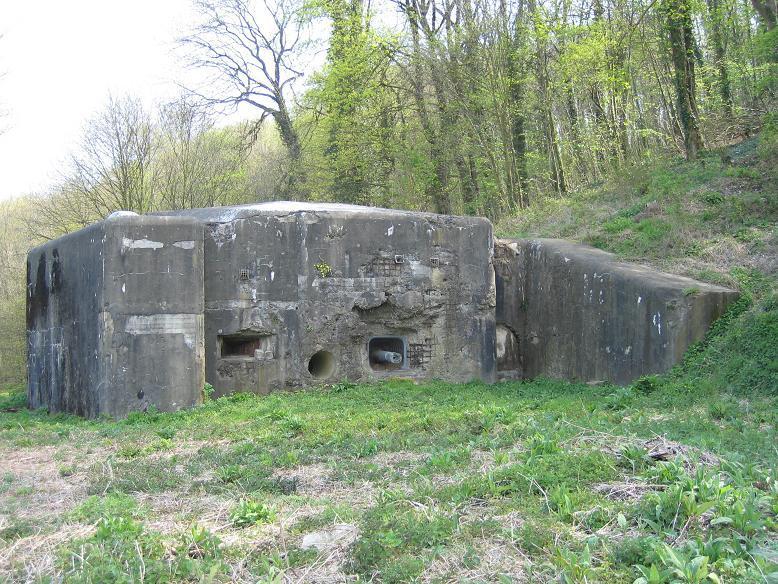 Bunker vid Eben-Emael