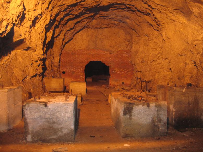 Inuti tunneln