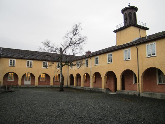 Huvudbyggnadens innergård