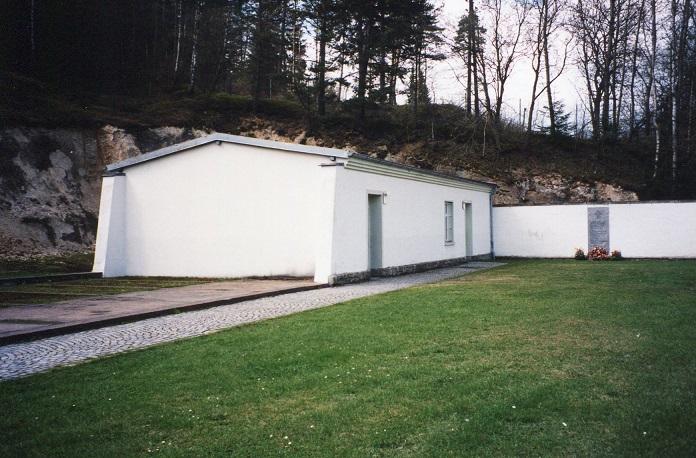 Rekonstruerad del av fängelset