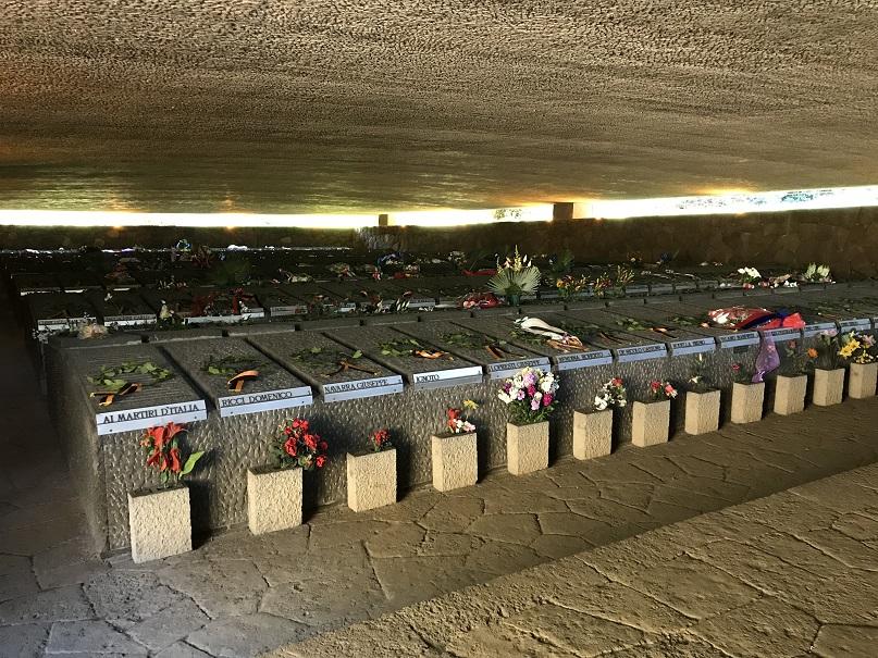 Inuti mausoleet