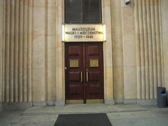 Ingången till museet