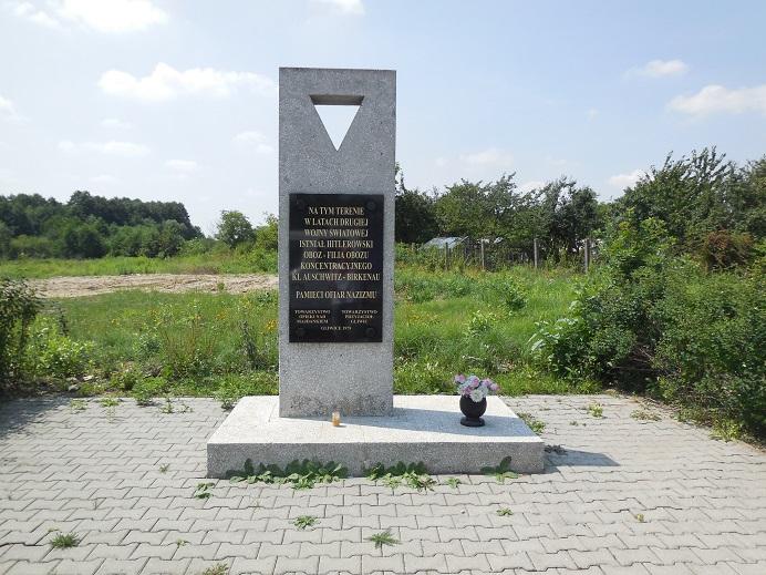 Minnesmonument vid Gleiwitz IV (Generała Władysława Andersa 70, 44-100 Gliwice)