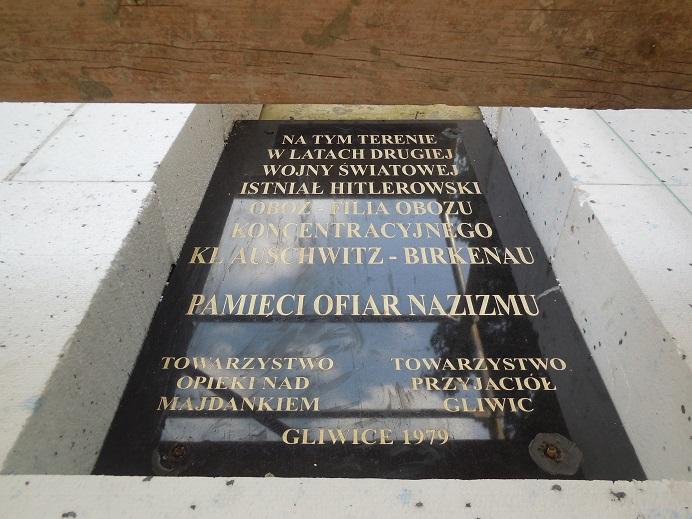 Minnesmonument vid Gleiwitz I (Przewozowa 32, 44-100 Gliwice)