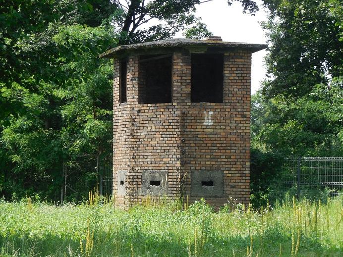Bevarat vakttorn vid Gleiwitz III
