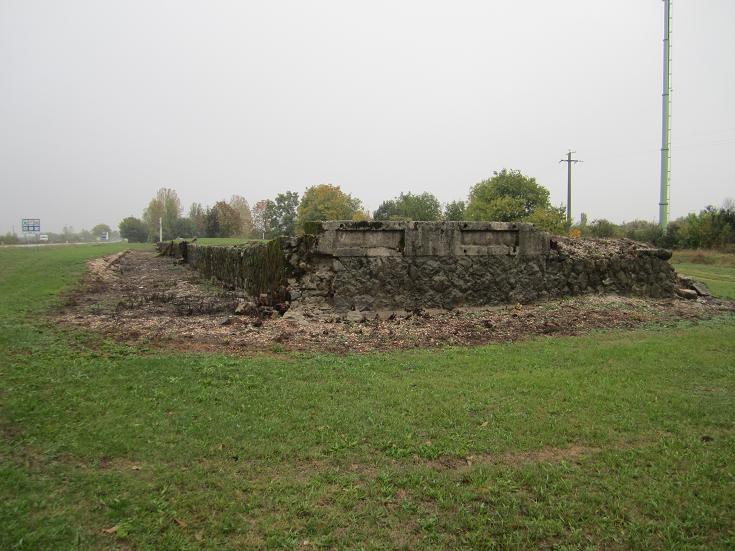 Ruin efter fångbarack