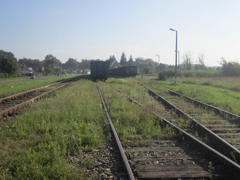 Umschlagplatz - Härifrån deporterades judarna till Belzec och Sobibor
